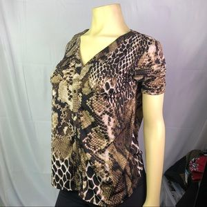 🍪George Women's Blouse/Top snake print 🍪